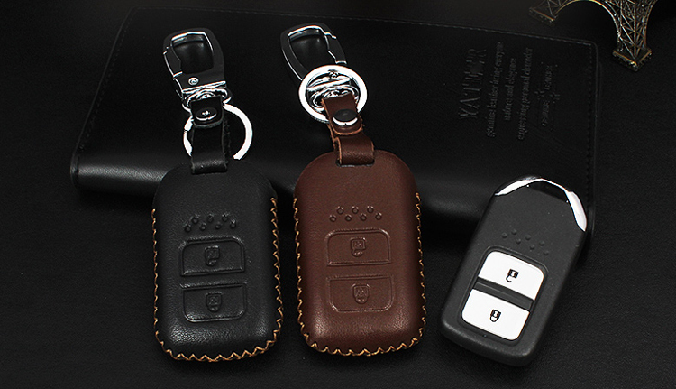Inteligentna Skóra Samochodów / składane Klucz Case Fob Pokrywa - Akcesoria do wnętrza samochodu - Zdjęcie 5