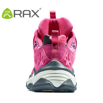 RAX Women\'s Waterproof Hiking Shoes for Winter Breathable and Anti-slip Mountaining Trekking OutdoorShoes for Professional Women
