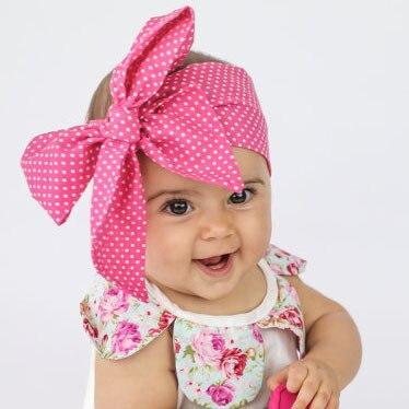 2017 tertinggi bayi perempuan ikatan simpul headband anak anak perempuan floral bando cantik bunga kasual headwear