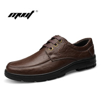 High Quality Men Flats Shoes Genuine Leather Mens Formal Dress Shoes Handmade Casual Shoes Soft Oxfords