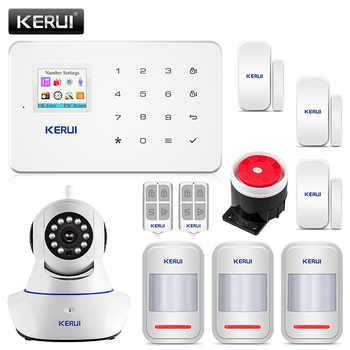 Kerui G18 Home Security Alarm System 80dB Alarme Maison Sans Fil Francais GSM Burglar Alarm Suit APP Control Alarme Residencial - DISCOUNT ITEM  19% OFF All Category