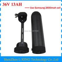 Free Customs Fee 36V 13AH Electric Bike Battery 500W 36V 13AH Battery 36V Bottle Battery Use