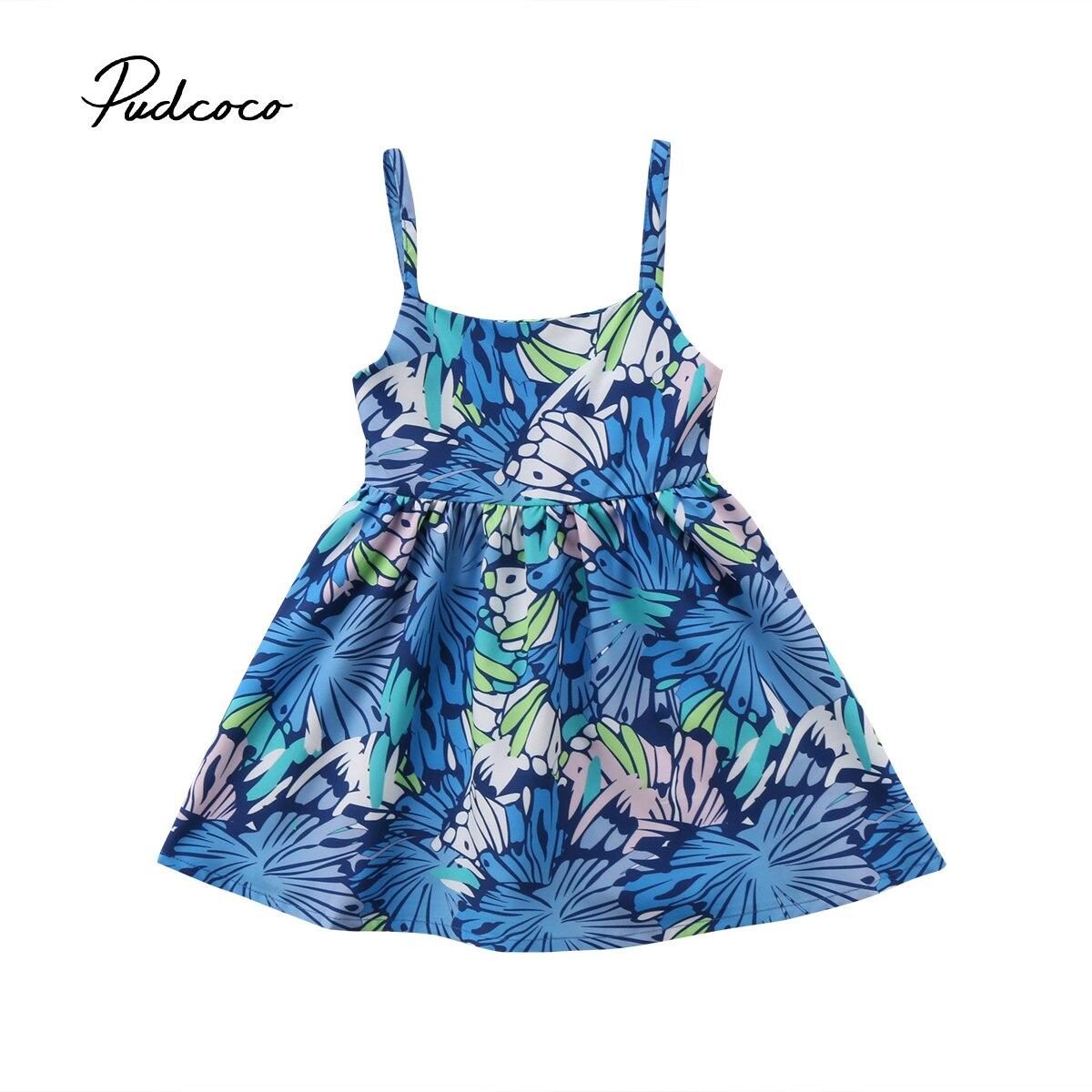 Без рукавов Платье принцессы для маленьких девочек ремень туника цветочный Платья для вечеринок сарафан Одежда наряды