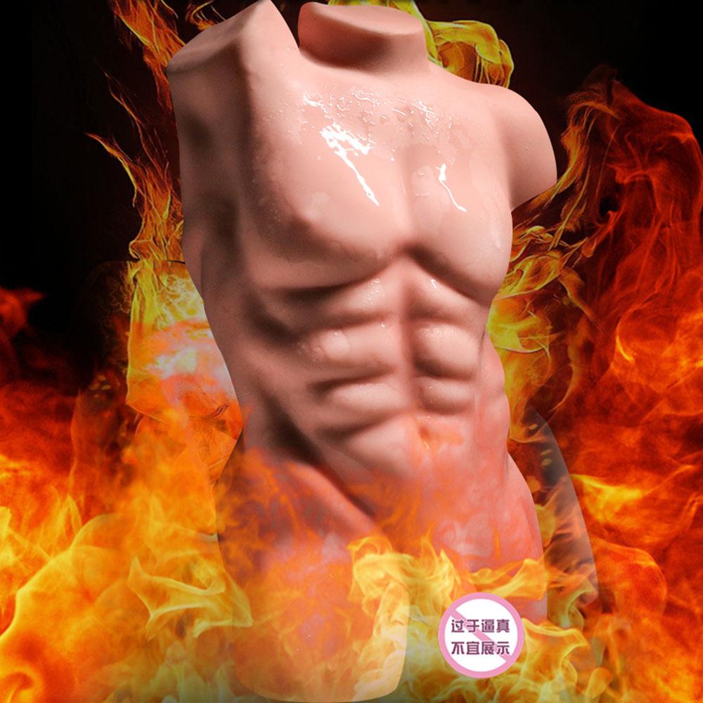 Gay. Masturbateur modèle inverse solide pour homme. Produits sexuels pour adultes. Simulation pénis. Simuler les organes anaux. Sexy mannequin - 1