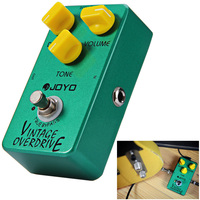 JOYO JF 01 Electric Guitar Effect Pedal True Bypass Design Vintage Overdrive Guitar Effect Pedal with Aluminum Alloy Material