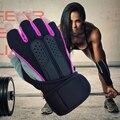 Melhor Preço Moda Ginásio de Esportes Luvas Anti-skid Exercício Levantamento de Peso Luvas de Fitness Musculação para Homens & Mulheres Guantes ginásio