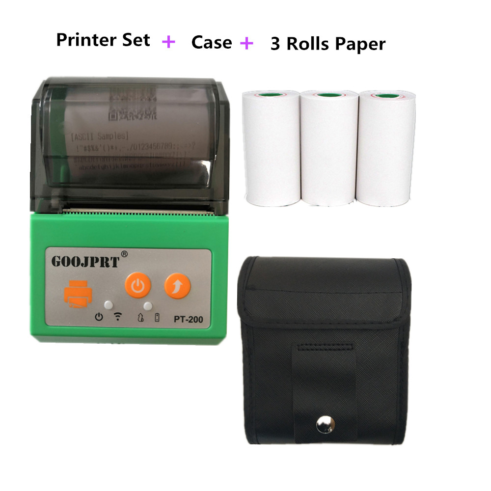 Green Standard thermal printer for all tickets invoice receipts