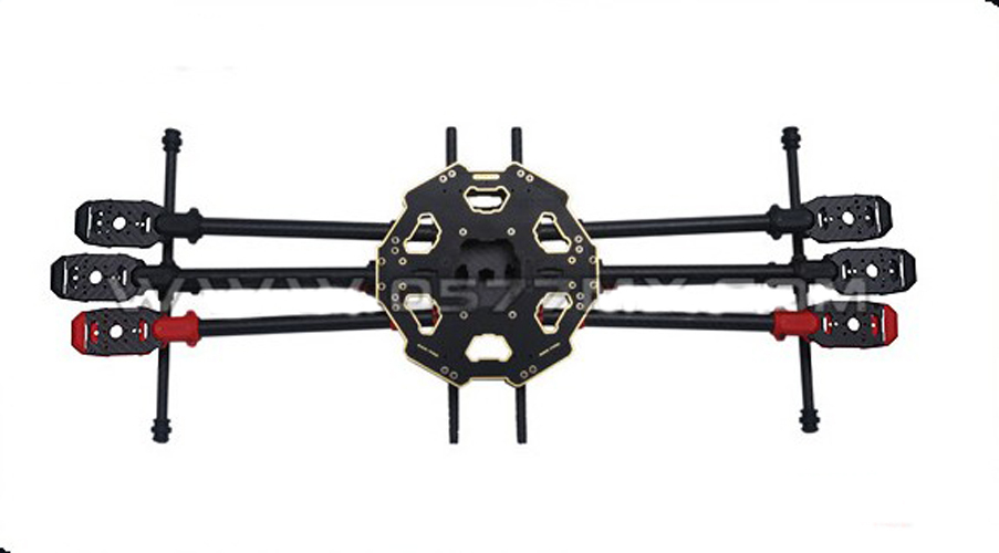 Tarot  680PRO 6-Axis Carbon Fiber Foldable Hexa copter Aircraft Frame Kit 1pc tarot 680pro folding carbon fiber 6 axis quad fy680 tl68p00 freetrack shipping