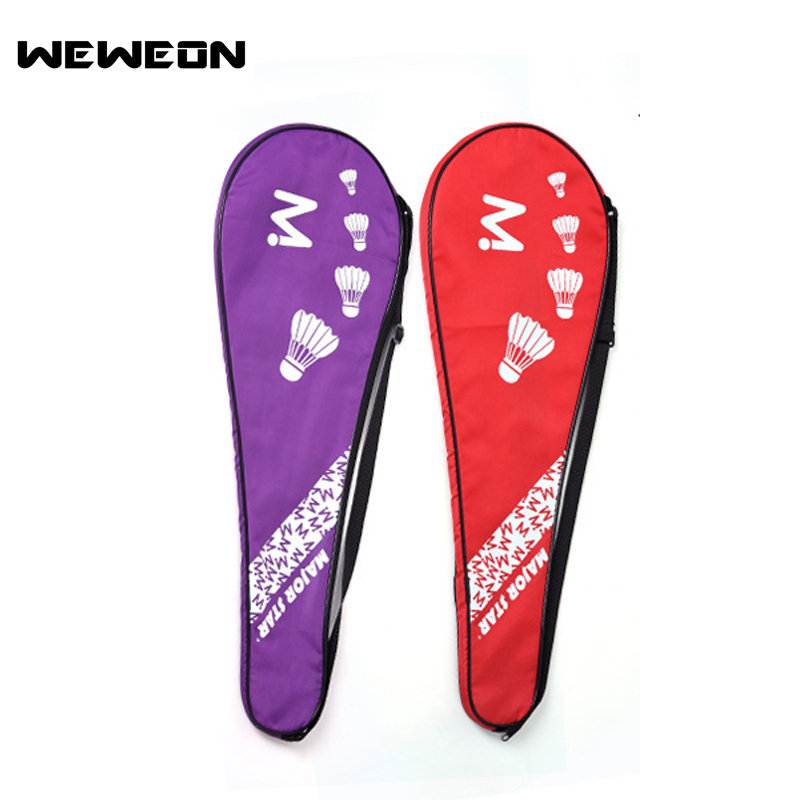 2018 New Sports Badminton Bag Single Shoulder Racket Bag Tennis Racket Bag 1-2 Badminton Racket Bags