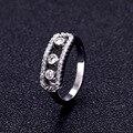 Marca de moda de Lujo Madre del Movimiento Blanco anillo de Bodas de Piedra Set Nueva Energía anillos Para La Mujer