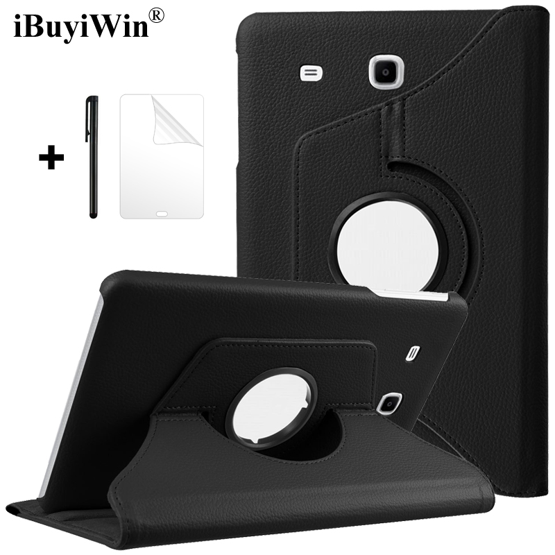 360 Rotating Flip Cover PU Leather Case for Samsung Galaxy Tab A 7.0 2016 T280 T285 Case A6 SM-T280 SM-T285 7 inch Tablet Fundas