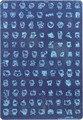 XXL Tamaño 5 UNIDS Venta Caliente 210X145 MM Nail Art Manicura Que Estampa la Placa de Imagen KXP-01-06 *** *** 6 Desgins para su elección