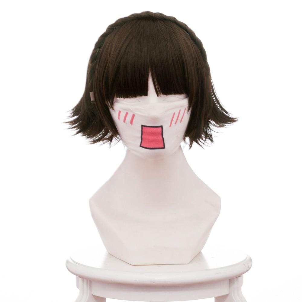 Persona 5 Makoto Niijima Wig Cosplay Wig
