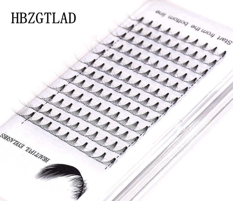 c75756d423f ... NEW 3D/4D/5D/6D/10D Russian Volume Eyelashes Extension Short Stem ...