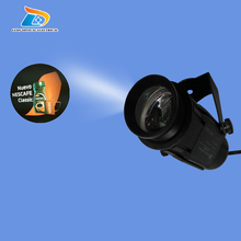 New Popular Great Quality Advertising Outdoor LED Gobo Projector Waterproof IP65 Company Logo Signs 20W LED Gobo Logo Projectors