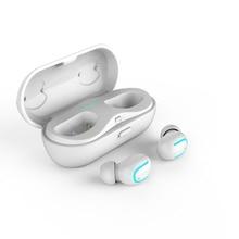 Esportes Fone de Ouvido Bluetooth 5.0 Fones De Ouvido Fones de Ouvido Sem Fio Fone De Ouvido Bilateral Chamadas Mic Fones De Ouvido com Microfone de carregamento da caixa