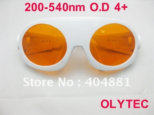 laser safety goggle 200-540nm O.D 4+ CE certified for 266nm, 445nm, 473nm, 532nm high power laser maritime safety