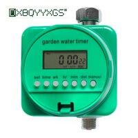 Garden water timer Solenoid valve lawn Drip irrigation Watering intelligent controller Rainwater sensor Automatic off System