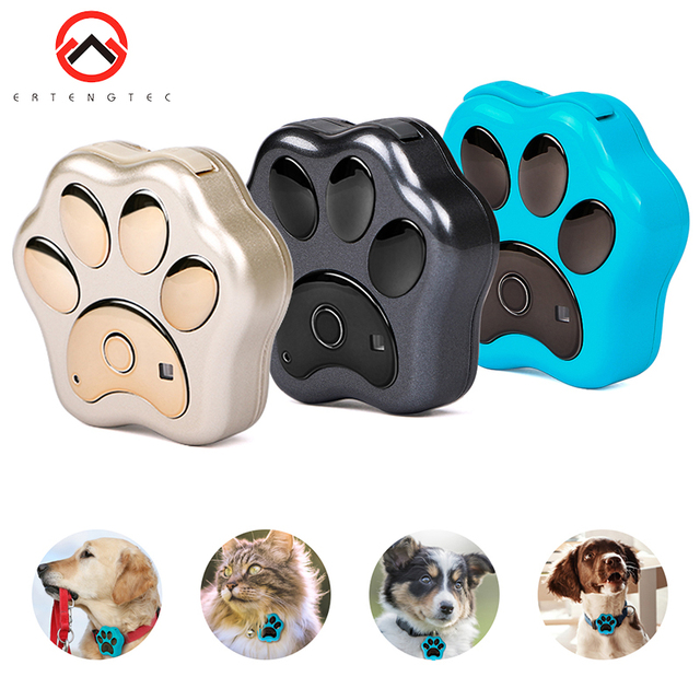 Smart Waterproof IP66 Mini Pet GPS  Realtime Tracking LED Rolling Light Long Time Standby  1