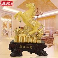 Украшение дома аксессуары Жуи golden horse украшения покрытие будущем подгонять смолы ремесел домашнего интерьера ювелирные украшения