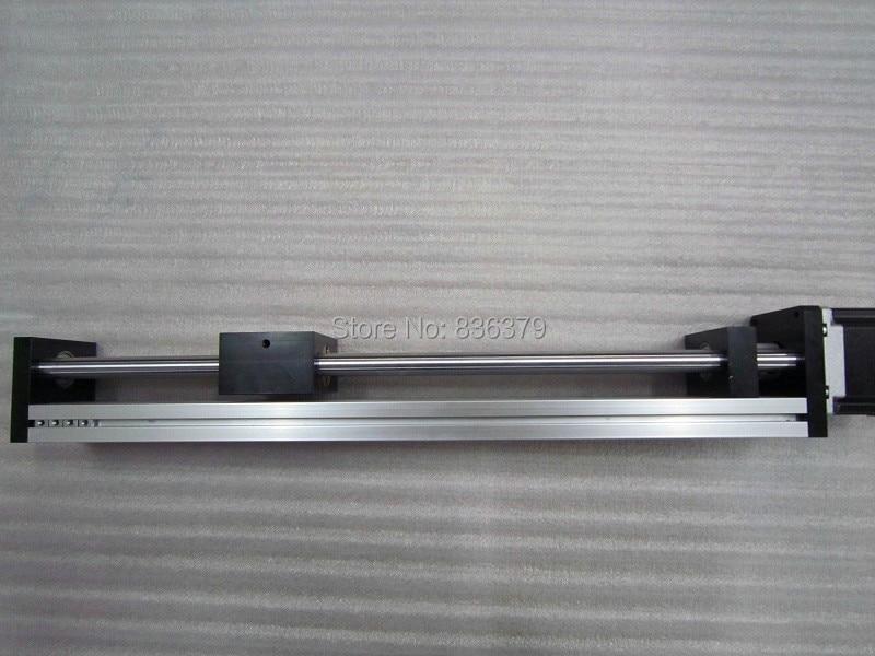 T8 * 4 T-type Screw Linear Slide Stage X Y Z Axis Sliding Table Module Effective Stroke 600mm+ Nema23 Stepper Motor цена