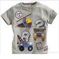 Novas crianças camisetas 100% algodão Kid desgaste do verão do primavera Vetement Garcon Baby & Kids marca Top e T dos desenhos animados miúdos Tshirts