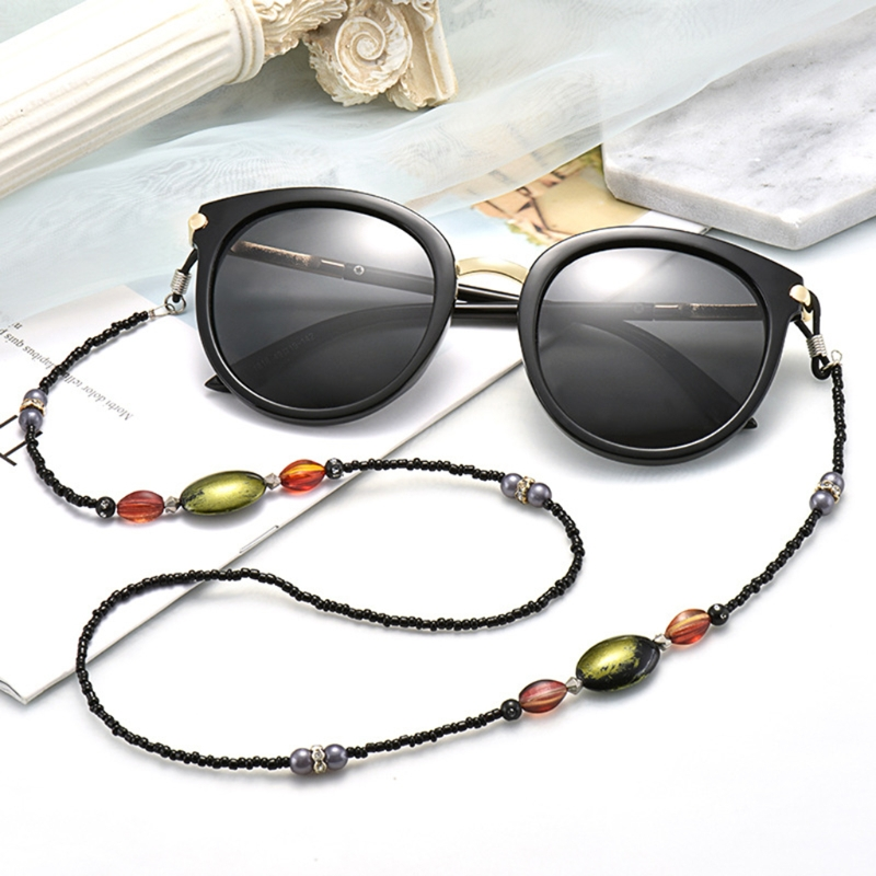 Reading Glasses Chain Sunglasses Holder Neck Strap Acrylic Laces Rope Retention