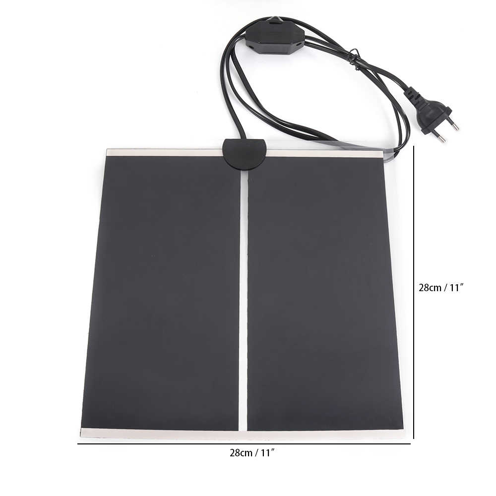 Heating Warm Pad Adjustable Temperature Controller Incubator Mat Tools Terrarium Reptiles Heat Mat 5-45W Climbing Pet