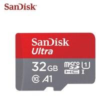 100% sandisk Оригинальный Micro SD карты Class10 TF card16gb 32 Гб 64 Гб 128 ГБ 80 МБ/с. слот для карт памяти для samrtphone и настольный ПК
