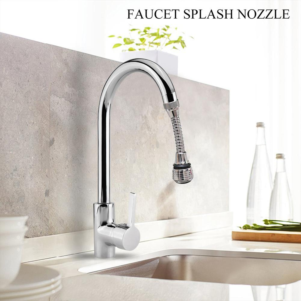 ABS Plastic Faucet Splash Nozzle Rotatable Water saving Shower Bath Valve Filter Devices Two Water outlet Modes in Aerators from Home Improvement