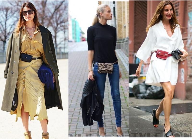 9f10bd394b1 US $11.89 50% OFF|Mihaivina Python Waist Bag Women Fanny Pack Belt Bags  Luxury Brand Fashion Leather Women Bag Handbag Lady Bucket Bags  wholesale-in ...