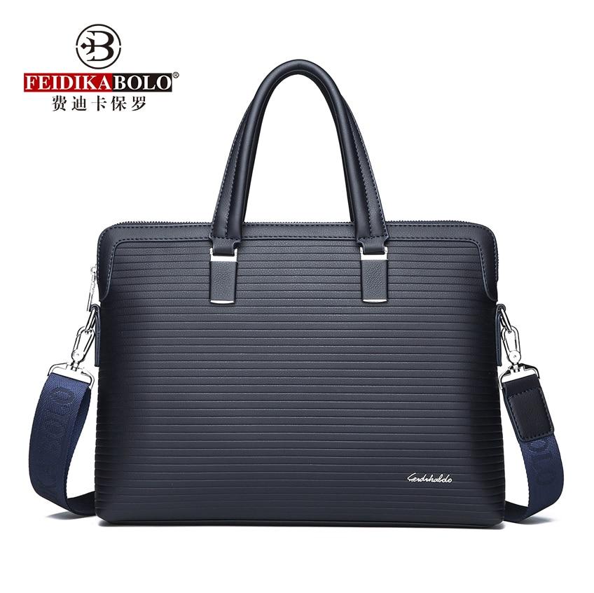 5ba103f95333 Известный бренд, деловой мужской портфель, кожаная сумка для ноутбука ...