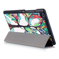 Newest Happy Tree Smart Cover For Lenovo Tab 3 8 Inch Case Flip PU Leather Case