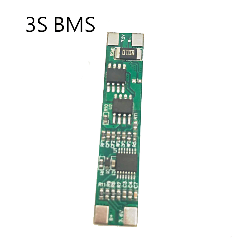 1PCS 3 S 18650 Bms Pcm Battery Protection Board  11.1V 12.6V BMS 10A Current Protection