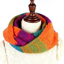 Осень-зима, снуд, женский шарф, плотная вязка, шерстяной воротник, шаль, шея, теплый, модный, высокое качество, шарфы для женщин, накидка, мягкая, 308