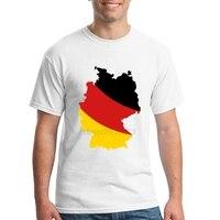 מפת דגל גרמניה Homme גברים חולצות T מעצב חולצת טי 100% כותנה קצרה Mens בגדים מודפסים טבעוני kawaii נארוטו