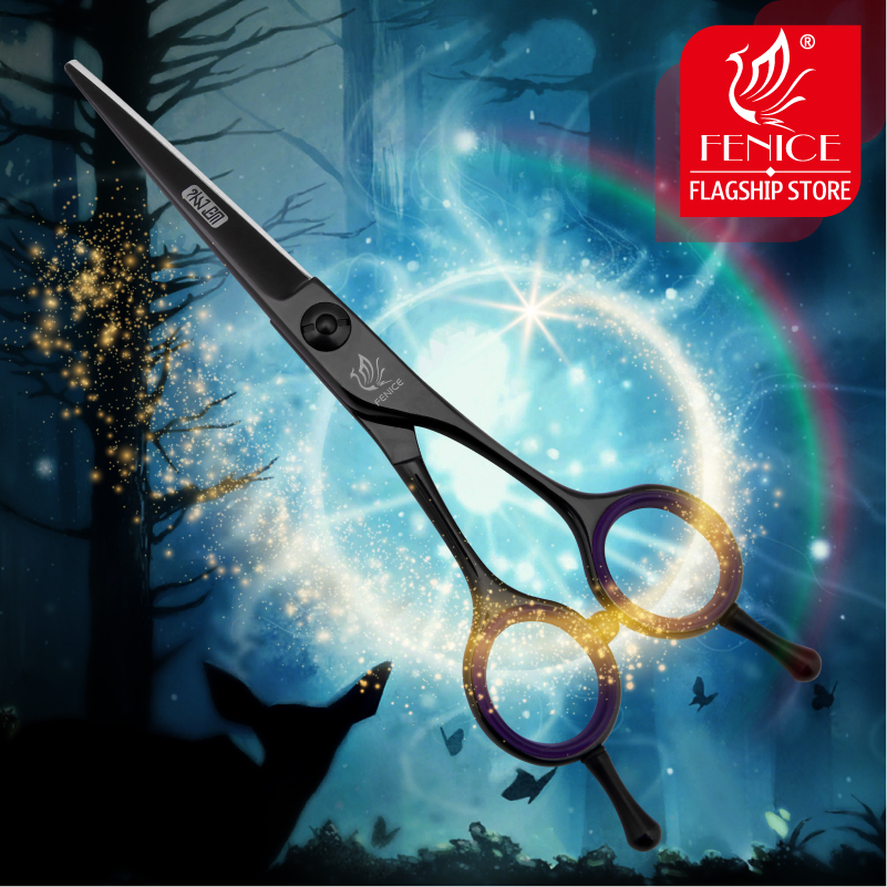 Professional Japan 440c 5.5 inch hair cutting scissors for beauty salon barber shop hairdressing styling tools new design professional 6 0 inch japan 440c left hand use hair cutting thinning scissors thinning rate 30% beauty salon styling tools