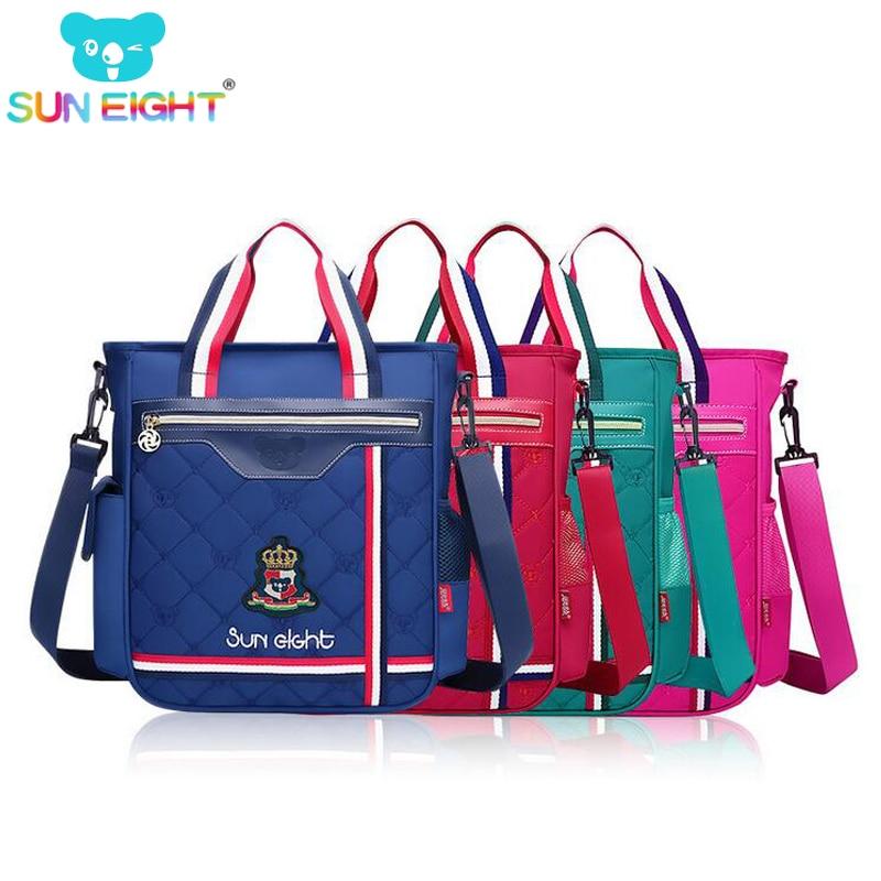 SUN EIGHT Unisex Student Shoulder Bag School Bag Kid Messenger Bags Primary School Bag messenger bag
