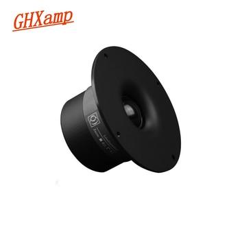 GHXAMP 110mm 4.5 cal głośnik wysokotonowy 2 Way głośnik Bluetooth DIY 4Ohm 25W kina domowego przenośny głośnik Silk Film 1PC