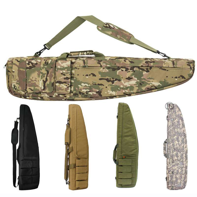 Hunting Bag 98 118CM Army Tactical Military Accessories Sniper Rifle Case Gun Carry Bags Airsoft Shooting Bag Fishing Backpack in Hunting Bags from Sports Entertainment