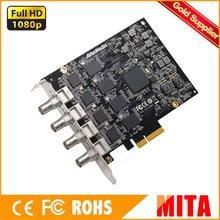 AverMedia 4ch carte de capture SDI Full HD PCIe Cadre Grabber en 1080 p 60fps, soutien SDK, faible latence (CE314-SN)