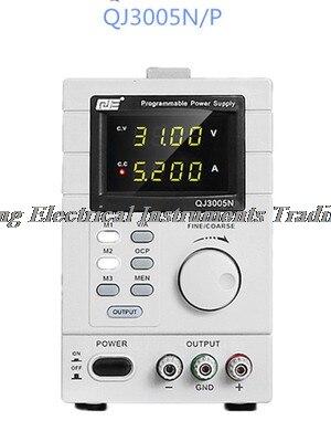 Arrivée rapide QJ3005N DC LAB alimentation monophasé 0-30 V/5A 2.0 LCD résolution d'écran 10mV 1mA