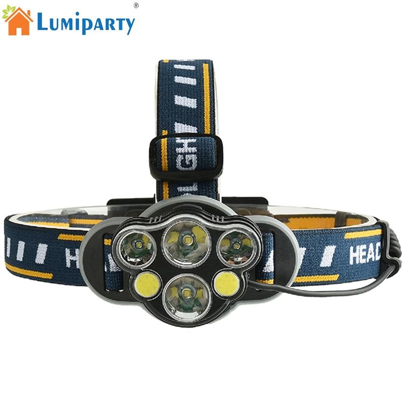 Cob Led Headlamp Xml T6 Usb Charging Led Headlight 35000lm
