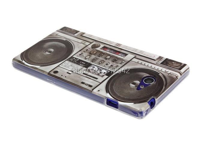 OEEKOI Retro Cassette Tape Radio Print Soft TPU Cover Phone Case para - Accesorios y repuestos para celulares - foto 4