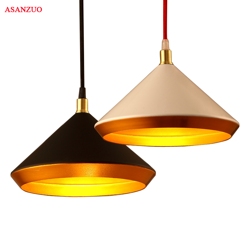 Nordic minimalist pendant light creative restaurant bar hanging lamp American iron balcony living room cafe pendant lamp nordic minimalist modern bar with balcony hanging in the bedroom living room creative personality single head cafe