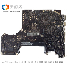 Laptop Motherboard For MacBook Pro A1278 Logic Board 13′ MD101 4G i5 2.8GHZ 820-3115-A Mid 2011