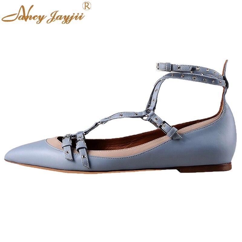6a1d5a0a3d7 Alpargata Nancyjayjii Nueva Moda Blanco y Azul Toe Point Charol Mujer  Zapatos Planos Más El Tamaño 5-14 Casual y Pisos al aire libre