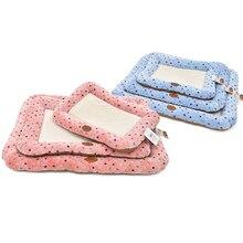 HELLOMOON Fashion Polka dot pet fresh dog mat cama para cachorro anti-slip waterproof bottom bed
