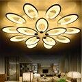 Luzes de Teto modernas Levaram para Sala de estar Decoração de Casa Flor Blooming Acrílico Lâmpada Do Teto Luminárias Lustre CLL-104