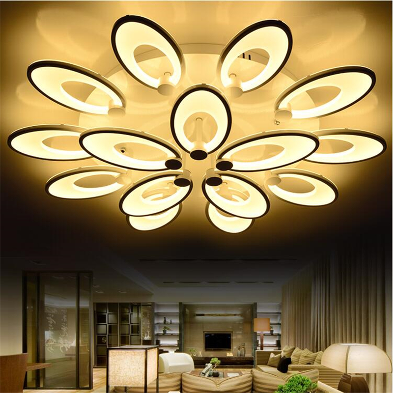Modern Led Pendant Lamps Living Room Acrylic Fixture: Modern Led Ceiling Light Lampfor Living Room Home Acrylic